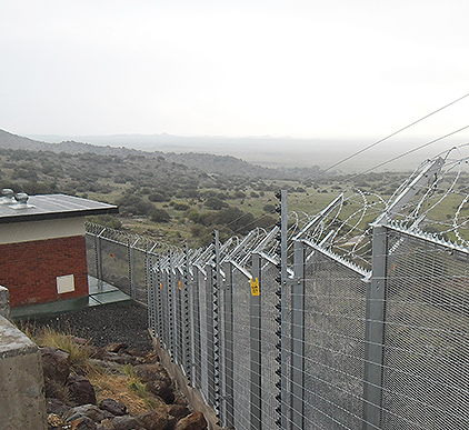 Panel System Fencing
